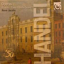 Handel Operas: Rinaldo / Flavio / Giulio Cesare; Rene Jacobs 9 CDs