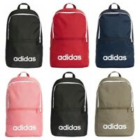 Adidas Backpack Linear School Backpacks Gym Training Sports Bag Black