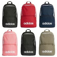 Adidas Backpack Linear School Backpacks Gym Training Sports Bag Black