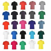 Slazenger Plain Polo Shirt Mens Collared T-Shirt Top TShirt Tee