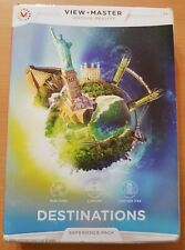 Mattel View Master (DLL69) Virtual Reality Experience Destinations Pack NEW