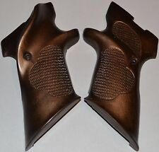 High Standard Supermatic S-101 Pistol grips left hand Dark Brown with screw