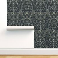 Removable Water-Activated Wallpaper Art Deco 1920S Embellishment Decorative