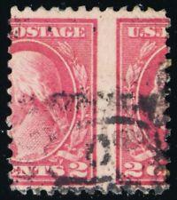 499, Used 2¢ Spectacular Misperforation Error Stamp - Stuart Katz