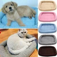 Pet Large Cute Blanket Dog Cat Sofa Mats Kennel Mattress Soft Cushion Warm Beds