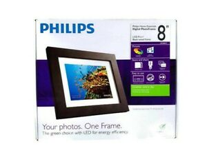 "Philips 8"" Digital Picture Frame, New, opened box"