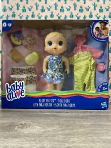Baby Alive Ready for Bed Baby Doll Blonde - New