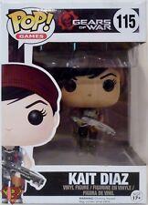 "KAIT DIAZ Gears of War Pop Games 4"" inch Vinyl Figure #115 Funko 2016"