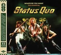 STATUS QUO - Whatever You Want The Essential Collection (3 CD Album) NEW SEALED