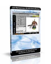 GS Warhammer 40k-Figurenverwaltung 2 - Software zur Verwaltung Ihrer Sammlung
