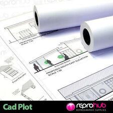 5 x A0 Standard Plan Printer Paper Roll 75gsm 841mm x 150m oce, kip, ricoh
