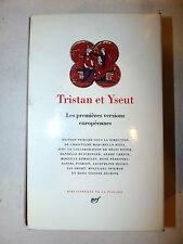 AA.VV. Tristan et Yseut Tristano e Isotta 1995 La Pleiade prima versione europea