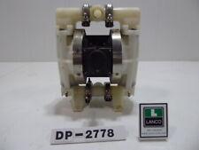 "Wilden Poly 1"" Inlet 1"" Outlet Diaphragm Pump DP2778 (DP2778)"