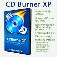 DVD-CD-Blu-Ray Burner Software-Bootable DVD Creator-ISO Burner-Windows 10/8/7