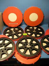 16 mm film 5 Pièce filmspulen 300 Mètres-angle avec filmdose-Nº c.62 - Film Spool