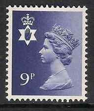 Northern Ireland 1978 NI26 9p 2 bands Regional Machin MNH