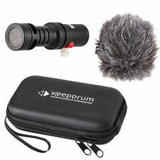 Rode VMML Videomic Me-L Mikrofon für iPhone iOS + keepdrum Soft-Case