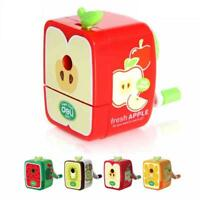 Hand Pencil Sharpener Box Mechanical Carving 3 Different Style School Suplies