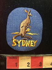 SYDNEY AUSTRALIA KANGAROO Patch S77J
