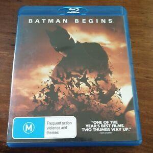 Batman Begins Bluray LIKE NEW! FREE POST