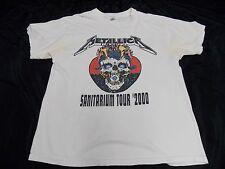 RARE METALLICA T Shirt TOUR Concert 2000 Sanitarium Rock N Roll Chicago XL