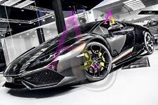 Lamborghini Huracan LP 610-4 Carbon fiber Side Skirt Splitter [Aero-DMC style]