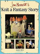 Knit a Fantasy Story by Jan Messent Pattern Book- Castle, Princess, Unicorn etc.