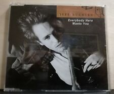 JEFF BUCKLEY- EVERYBODY HERE WANTS YOU - HALLELUJAH live BATACLAN - cds nuovo