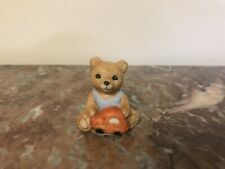 Miniature Homco Baby Teddy Bear Figurine Mare In Sri Lanka -Collectible