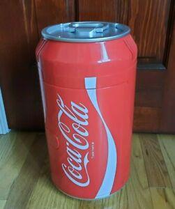 Coca Cola Coke Can Mini Fridge Refrigerator Koolatron Portable Cooler w powercor