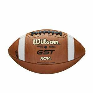 Wilson GST NCAA Leather Game Football Wtf1003 Brand New Fast Free Shipping