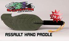 Assault Hand Paddles, OD Green