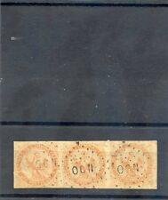 TAHITI, FORERUNNER YT5 40c EAGLE, 1866 OCN, STR X 3, CENTER OK, OTHERS THIN $750