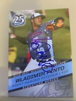 Wladimir Pinto 2018 Signed West Michigan White Caps Team Card