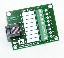 RJ45 Terminal Board and Test Fixture - RJ45-TERM