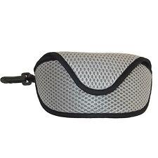 Acolchado estuche para anteojos Gafas De Sol Soporte llevar Clip Unisex Deportes Viajes, Vacaciones