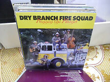 Dry Branch Fire Squad Fannin' the Flames vinyl LP 1982 ROUNDER Records EX