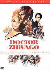 Doctor Zhivago (DVD, 2001, 2-Disc Set) NEW - Classic