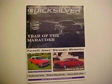 IMOA International Mercury Owners Association QUICKSILVER Winter 2002 vol 11 #1
