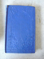 RARE 1856 Book - Wings and Stings by ALOE - T Nelson and Sons