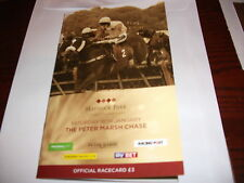 HAYDOCK PETER MARSH CHASE DAY 18TH JANUARY 2014. MELODIC RENDEZVOUS WINS ON CARD