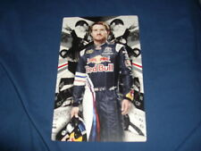 2011 BRIAN VICKERS #83 RED BULL NASCAR POSTCARD