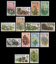 Falkland 1968 - Mi-Nr. 161-174 ** - MNH - Blumen / Flowers