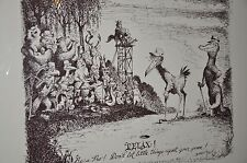 5 Disney's Marc Davis Serigraphs Golf themed, hand signed and numbered *Rare*