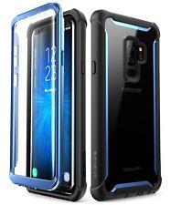 SUPCASE i-Blason Ares Schutzhülle Case Displayschutz für Galaxy S9 plus blau
