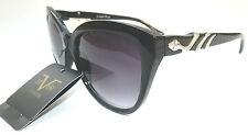 NEW women's VERSACE 1969 ITALIA black cat eye sunglasses