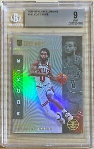 2019-20 Panini Illusions Coby White Rookie RC #183 BGS 9 Mint Bulls Invest 4195