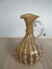 SALVIATI GLASS STUNNING EWER