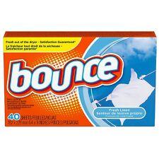 Bounce Fabric Softener Sheets, Fresh Linen 40 ea (Pack of 5)