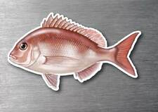 Snapper sticker quality long life water & fade proof 7 year vinyl boat fishing
